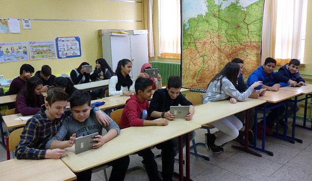 Digital Deutsch Lernen an der Steinschule