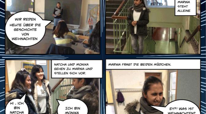 Deutschunterricht mal anders – das Klassenprojekt der 8b