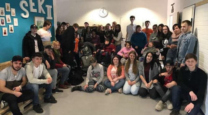 Gemeinsame Projekttage mit der Allerschule 2017