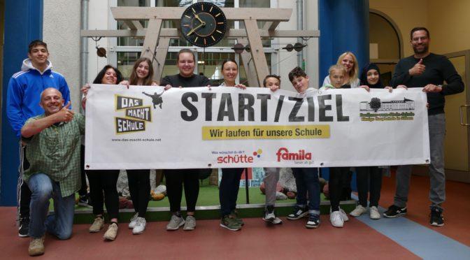 31. Mai 2018: Schritt für Schritt für unsere Schule – Der Sponsorenlauf der Steinschule