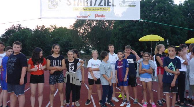 Erster Nachtlauf der Freiherr-vom-Stein Schule