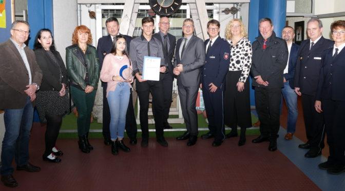 Stein-Schule erhält Zivilcouragepreis der PolizeidirektionBraunschweig