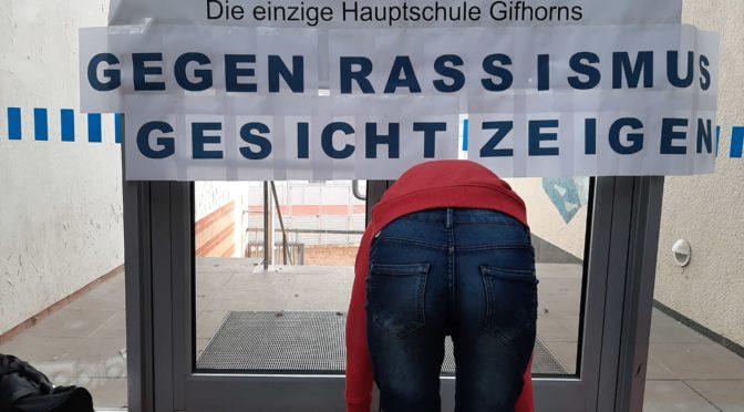Schulvollversammlung – Gegen Rassismus Gesicht zeigen!