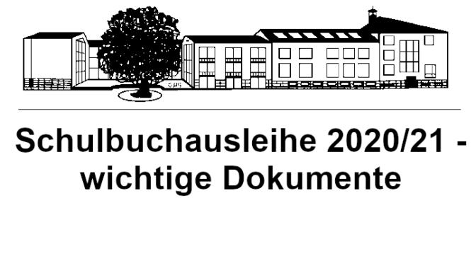 Bücherausleihe 2020/21 – wichtige Dokumente